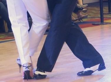 Claudio's heels